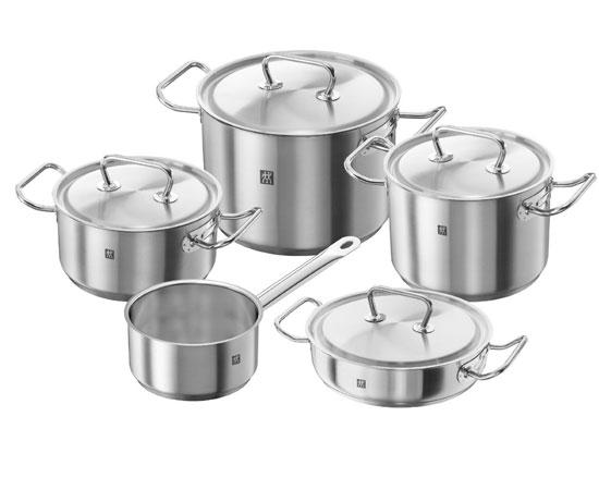 Chollo bater a de cocina zwilling set de 5 piezas 114 99 for Bateria cocina profesional