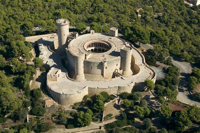 Vista del castillo Bellver