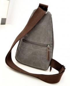 Bolsa mochila de lona