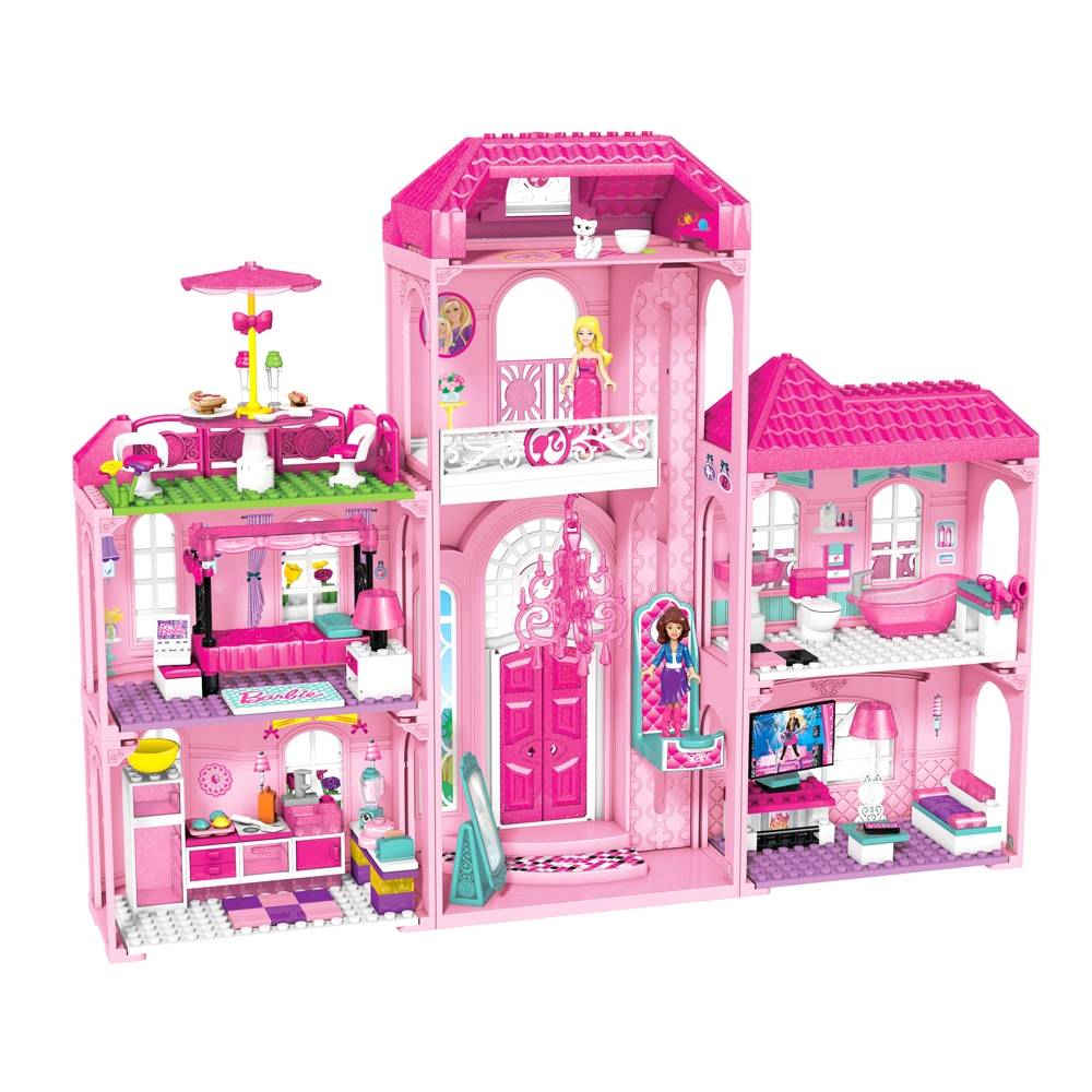 Mansi n de lujo barbie mega blocks 35 15 antes 69 99 for Casa de eventos la mansion sabanalarga
