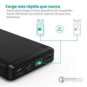 Bateria carga rapida