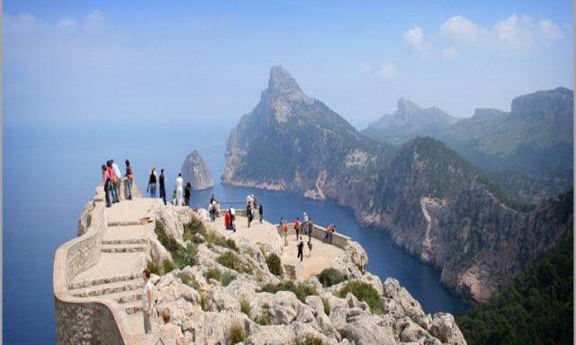 Impresionantes vistas en Formentor