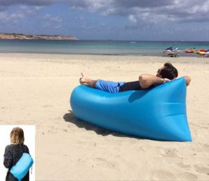 Sofa playa hinchable
