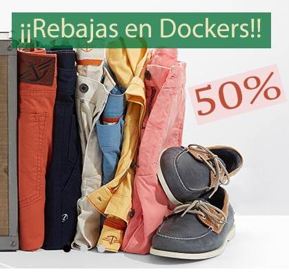 Rebajas en Dockers
