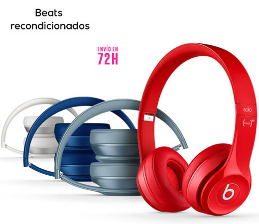 auriculares beats reacondicionados