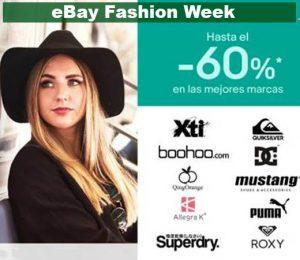ebay fashion week