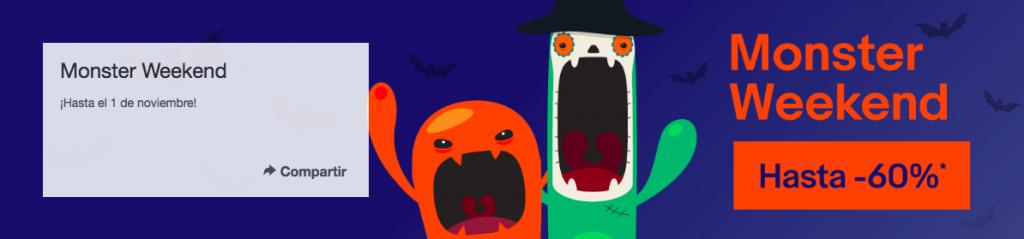 Monster Weekend de eBay