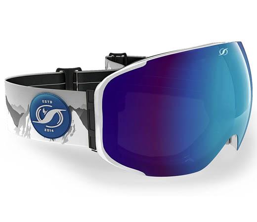 lentes de esqui intercambiables
