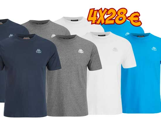 4-camisetas-kappa-28-euros
