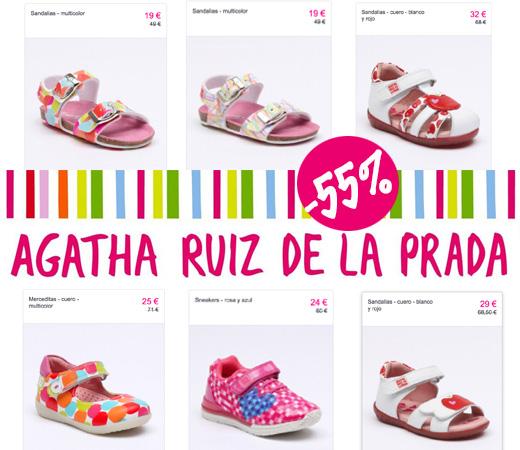 cee10387e Descuentos de hasta el 55% en calzado de Ágatha Ruiz de la Prada para  niñas!! – Chollos, descuentos y grandes ofertas en la red – KeChollazo.com