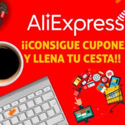 Listado completo de cupones para la nueva promoción de Junio en Aliexpress ¡Hazte ya con ellos!.