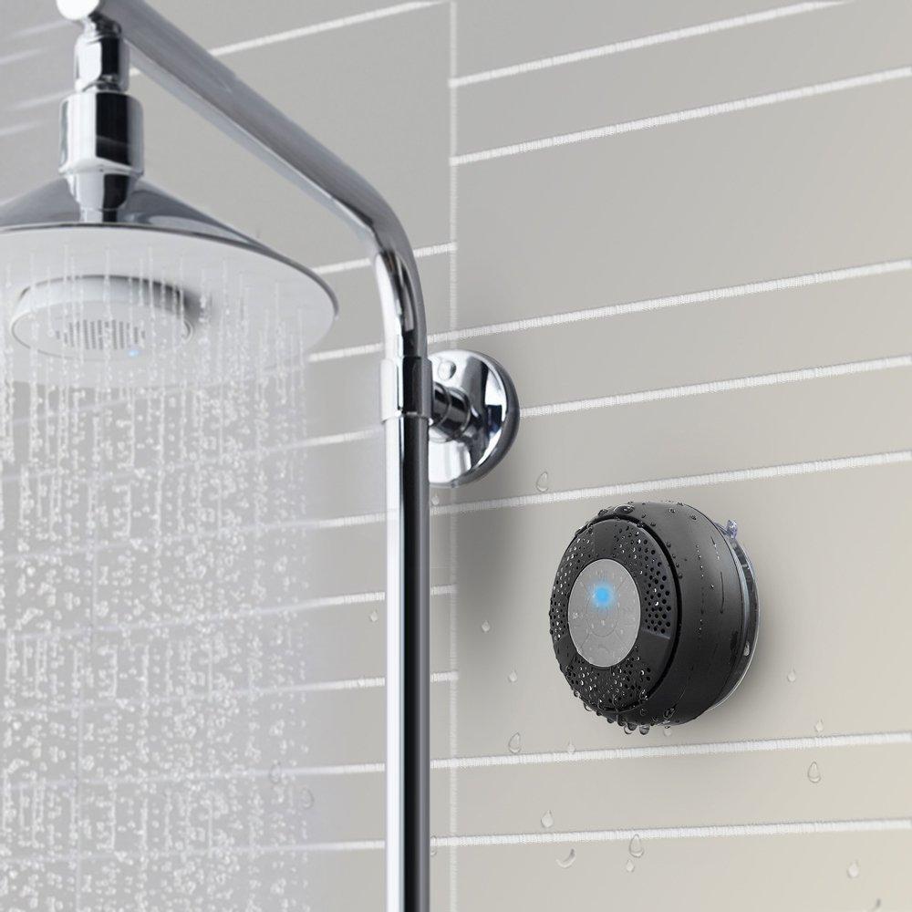Oferta del d a altavoz con bluetooth y manos libres para ducha impermeable taotronics por s lo - Canciones para la ducha ...