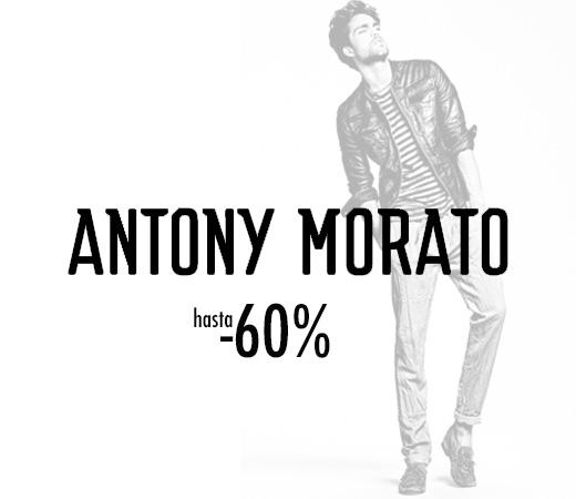 d3f2ef754fd1f Descuentos de hasta el 60% en moda y complementos de Antony Morato para  hombre. – Chollos