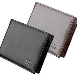 Billetera de cuero para hombre; dos modelos a elegir, por sólo 2,99€ con cupón descuento.