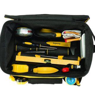 Bolsa de herramientas Stanley STST1-73615 de 34 cm con diseño de maletín por 9,99€.