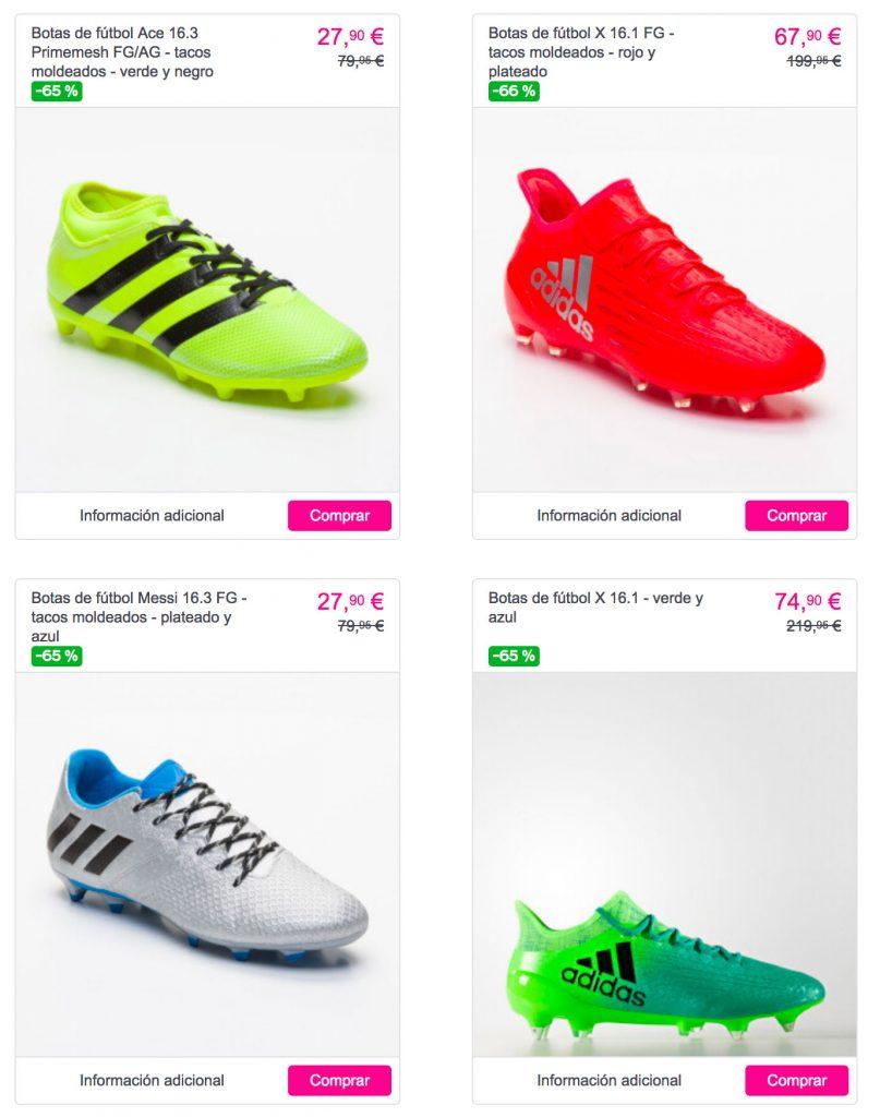 buy online b17ce 0c86b Lo mismo ocurre con la sección dedicada al Rugby en la que encontraremos  calzado para la práctica de este deporte a la venta desde 46,90€ para  caballero, ...