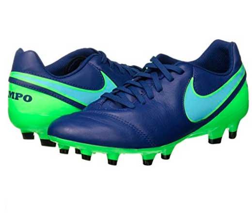 a09639a97bf12 Botas de futbol Nike Tiempo Genio II en color azul por 29