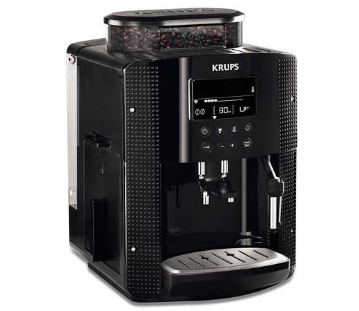 Cafetera krups milano autom tica con molinillo integrado 3 niveles de intensidad 15 bares de - Cafetera con molinillo incorporado ...