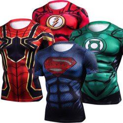 Camisetas con estampados 3D de tus héroes favoritos desde sólo 5,94€!!