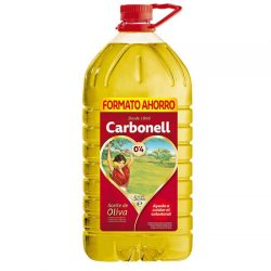 Aceite de Oliva Carbonell garrafa de 5 litros por sólo 7,05 euros, antes 19,75€.