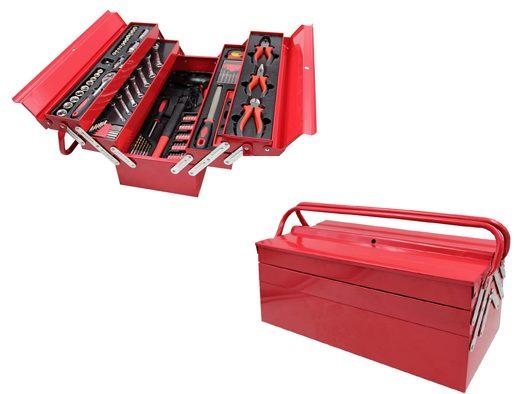 Caja de herramientas met lica greencut con 118 piezas por - Caja de herramientas metalica ...