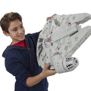 Star Wars, Halcón Milenario por 28,21€.