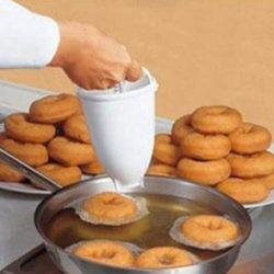 Máquina para hacer donuts o rosquillas VOGVIGO  por sólo 2,58€.