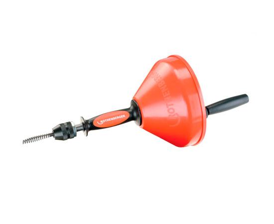 Desatascador y limpiador manual de tuber as rothenberger - Desatascadores de tuberias ...