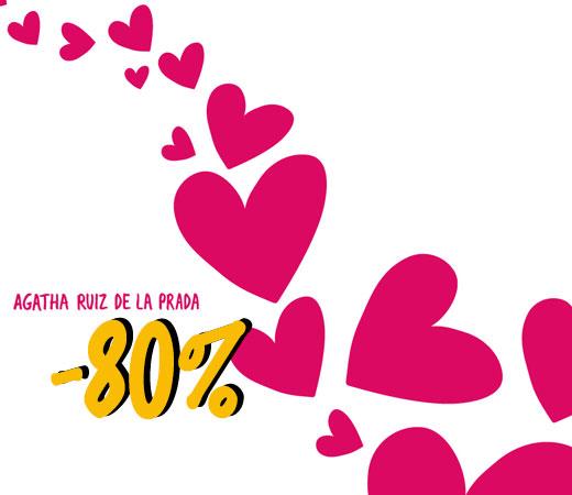 54c8b3c099b Descuentos de hasta el 80% en bolsos y complementos de Agatha Ruiz de la  Prada!! – Chollos