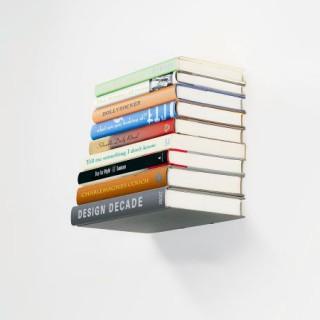 Estantería invisible para libros por 11,64€.