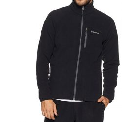 Forro Polar Columbia Fast Trek II Full Zip Fleece en color negro por 24,62€.