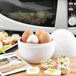 Cuecehuevos para microondas InnovaGoods kitchen Foodies por sólo 7,05€.
