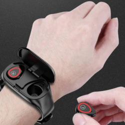 Lemfo M1 AI, pulsera de actividad con auriculares incorporados por sólo 36,35€!!