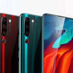 """Lenovo Z6 Pro versión Global, pantalla 6.39"""", Snapdragon 855, 8GB, 128GB,  cámara cuádruple por 221,93€."""
