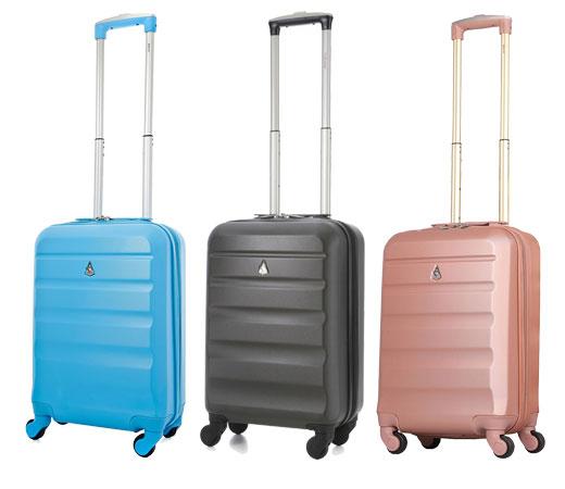 Oferta del d a maleta de cabina abs aerolite para equipaje de mano de 55cm por 32 99 - Medidas maleta cabina vueling ...