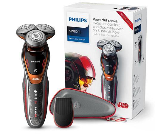 La afeitadora Philips SW6700 14 Rebel es un modelo de la serie 6000 de  Philips 406037623259