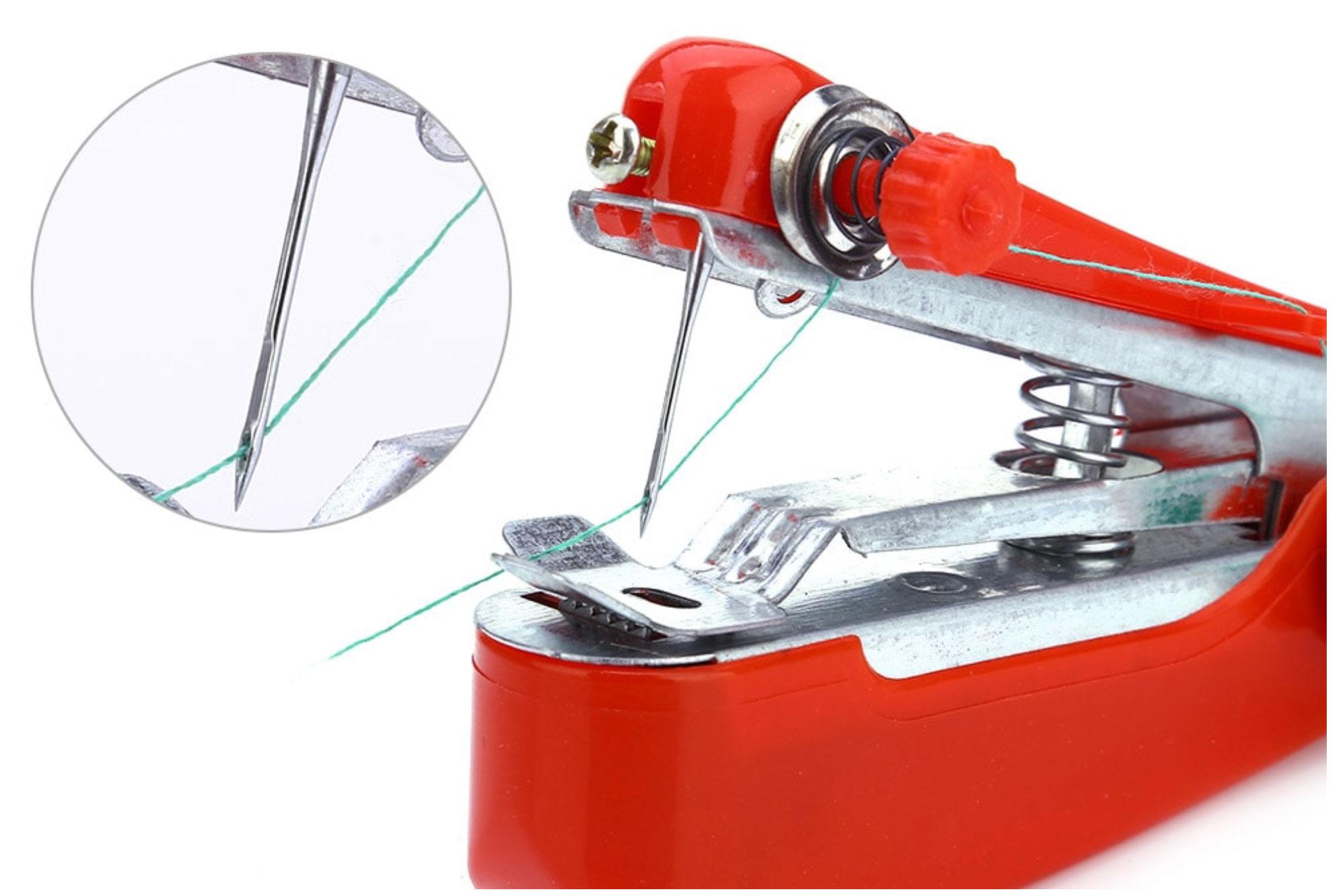 Oferta Flash!! Mini máquina de coser manual portátil por 3