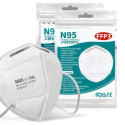 Mascarillas de 6 capas con protección FFP3 N95 desde sólo 7,31€ el pack de 10 y 21,92€ el de 50 desde España.