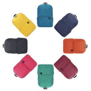 Mochila Xiaomi Trendy Solid Color, disponible en 6 colores desde 1,46€ desde España.