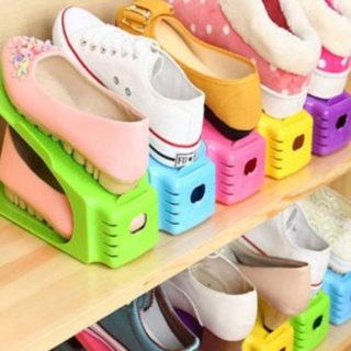 6 organizadores de calzado para armarios o zapateros por 7,32€.