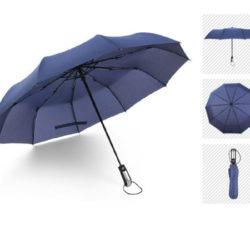 Paraguas automático Xiaomi Three-folding por sólo 8,77€.