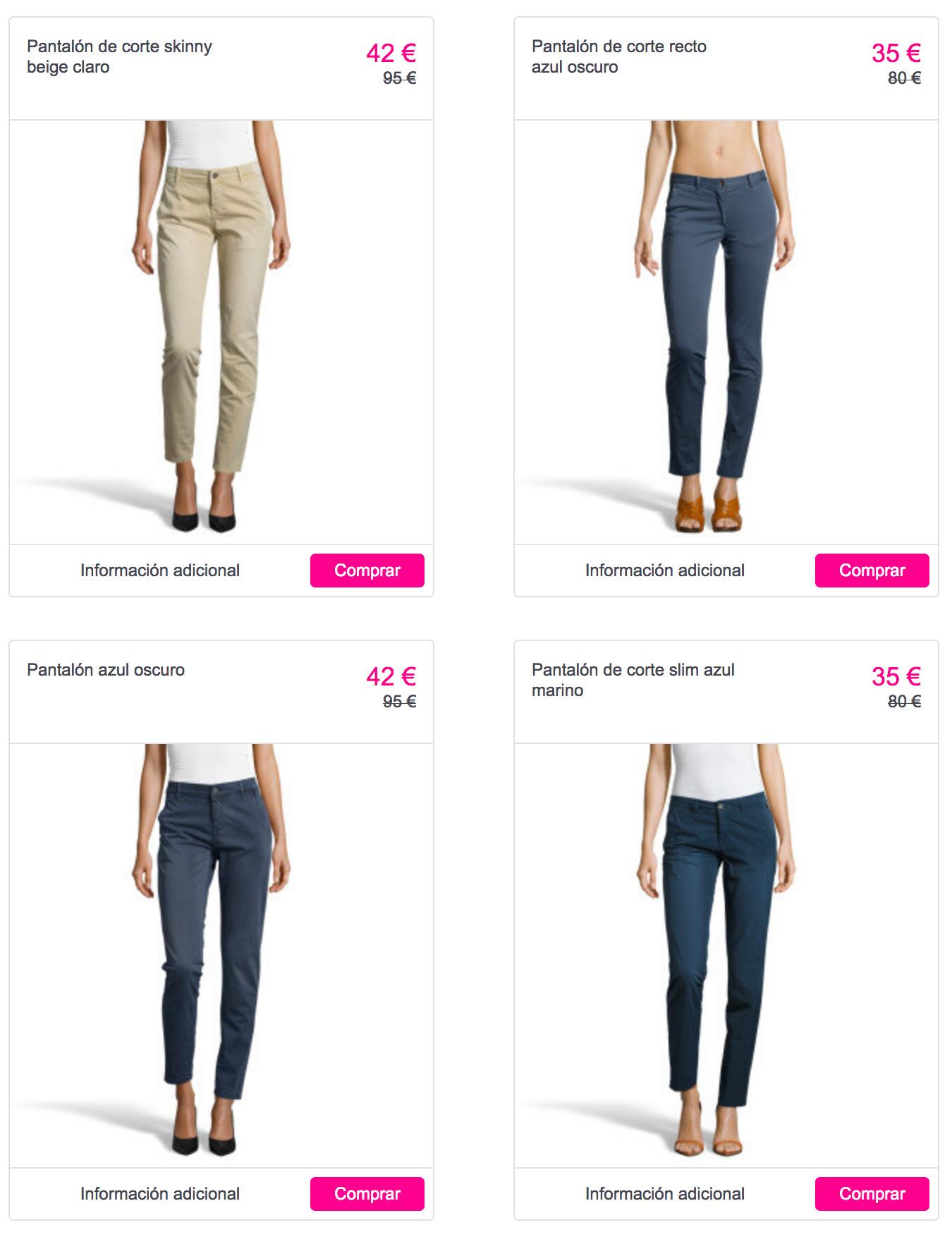 a76f0546 Descuentos de hasta el 60% en el catálogo de moda de Pepe Jeans para ...