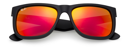 ray ban color naranja