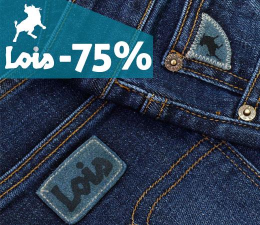 ¡Hasta el 75% de descuento en el catálogo de Lois! b139be9ff3c