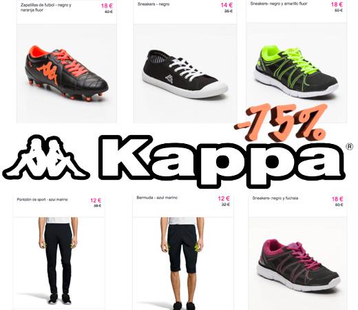 Hasta el 75% de descuento en el catálogo de Kappa para hombre 643654b8088c4
