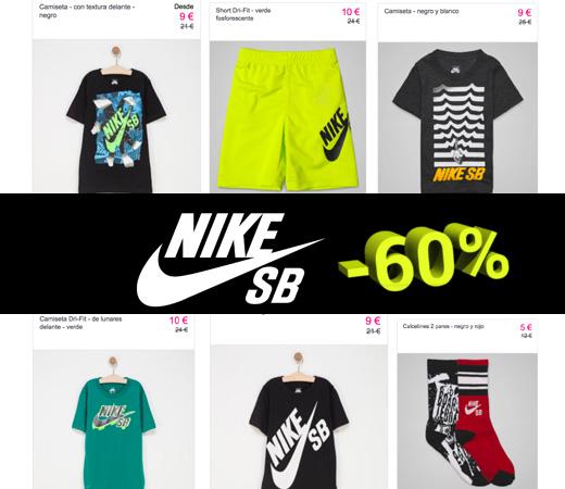 Ropa para niños Nike SB con descuentos de hasta el 60%!! b0a115b042ab6