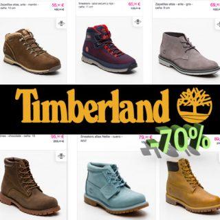 Hasta el 70% de descuento en ropa y calzado Timberland, para mujer, hombre y niño.