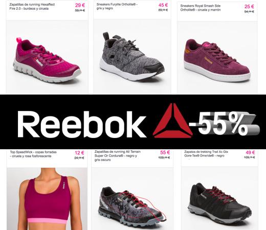 ddab13788 55% de descuento en el catálogo de Reebok para hombre, mujer y niños!! –  Chollos, descuentos y grandes ofertas en la red – KeChollazo.com