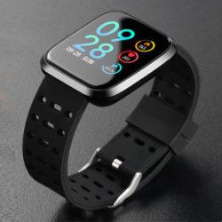 """Smartwatch Lenovo E1 Global Version, pantalla 1,33"""",  con podómetro, sensor cardíaco, control remoto cámara/música por 27,09€."""