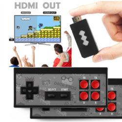 Consola de juegos Stick inalámbrica con conexión HDMI o AV y dos mandos desde 18,68€.